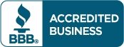 Accredited By The Better Business Bureau