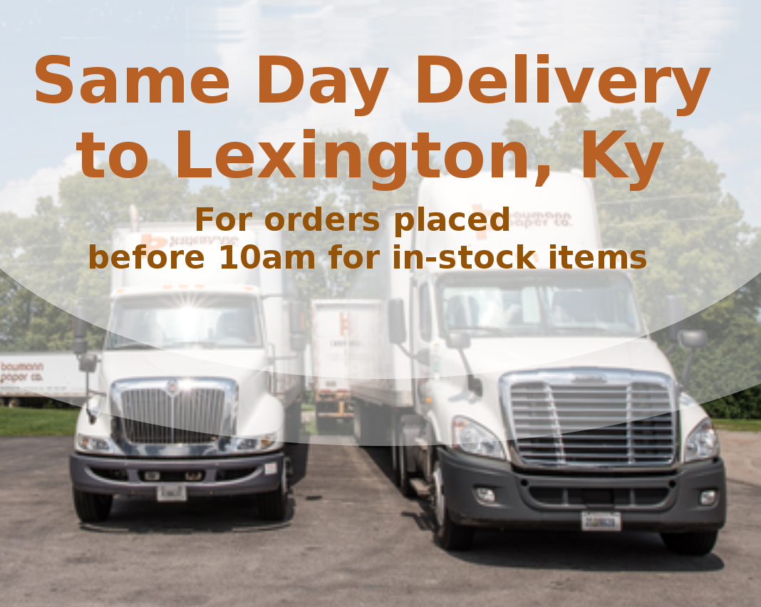 Same Day Delivery to Lexington, Kentucky